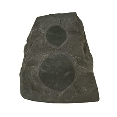 Klipsch AWR-650-SM Outdoor Rock Speaker in Granite
