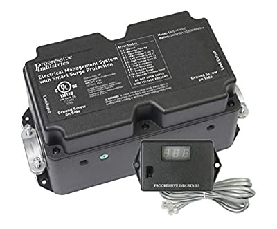 5.  50 Amp Hardwired RV Surge Protector(EMS-HW50C)