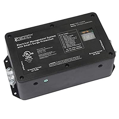 4.  30 Amp Hardwired RV Surge Protector (EMS-LCHW30)