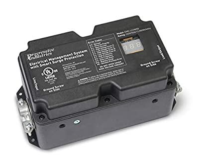 4.  50 Amp Hardwired RV Surge Protector(EMS-LCHW50)