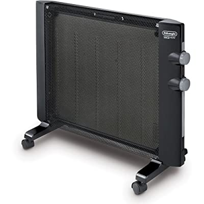 6. Wall Mount DeLonghi Space Heater With Mica Thermic Panel Heater, Full Room Quiet 1500W - HMP1500