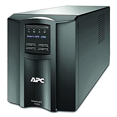 Top Pick:  APC 1500VA Smart UPS with SmartConnect with Sinewave UPS Battery Backup and AVR [SMT1500C]