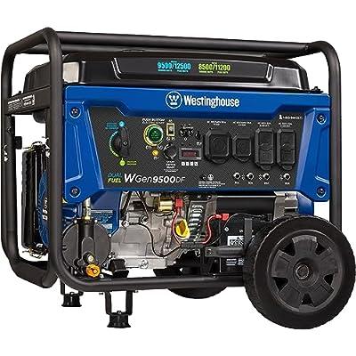 2.  Westinghouse WGen9500DF Portable Propane Generator (dual fuel) Electric Start