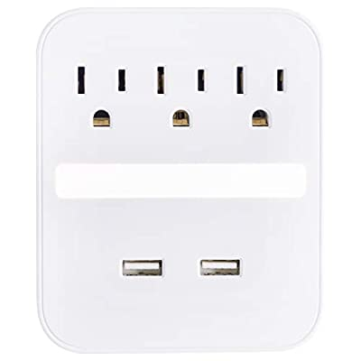 Navigate to the detailed review of GE Pro USB Surge Protector product [ID: B07R69ZJL6]
