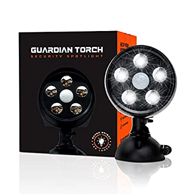 Navigate to the detailed review of Guardian Torch Solar Powered Motion Lights product [ID: B07X5DG6KM]