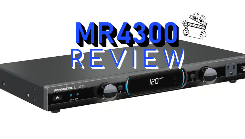 panamax mr4300 mr4000 surge protection home theater